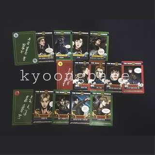 [WTS/READY STOCK] EXO POWER SOLUTION CARDS