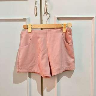 Pomelo Muted Pink Shorts size L on tag