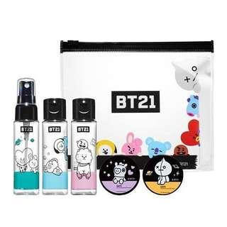 BT21 Olive Young Official Cosmetic Kit