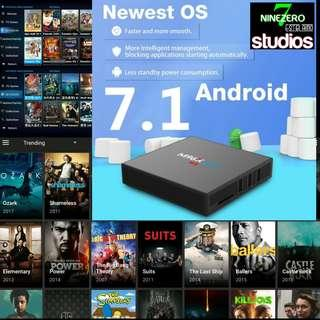 Android Tv Box HaoHd A / HaoHd C Combo Deal