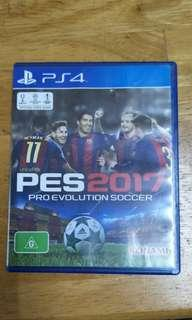 PS4 PES 2017 Pro Evolution Soccer game