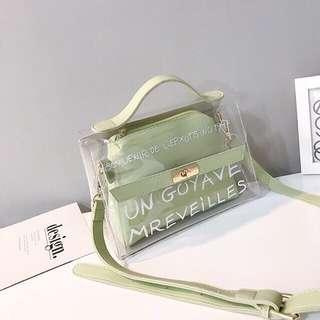 Pastel Green Jelly Bag