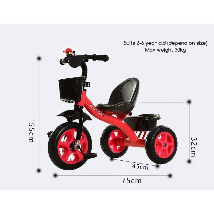 Ert Tricycle Kids Children 3 Wheel Bicycle Training Toy