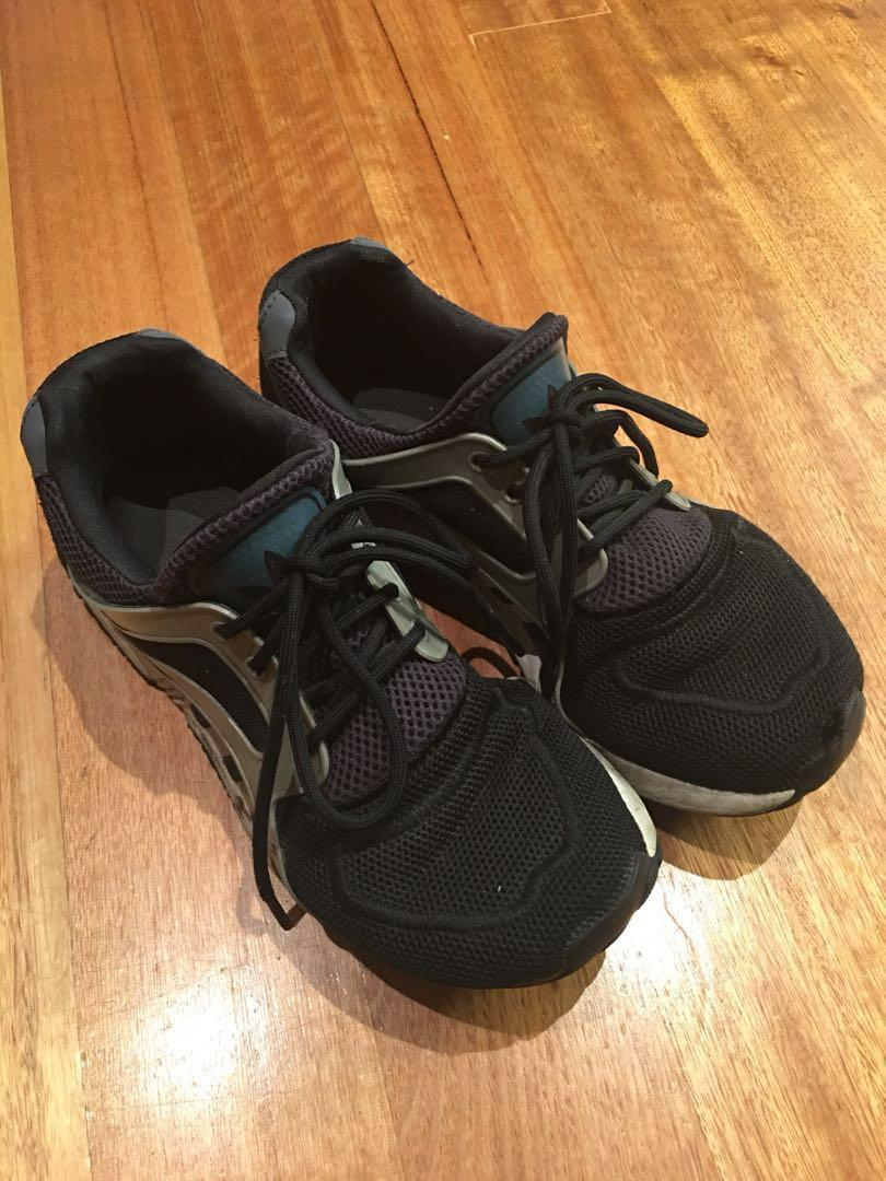 Adidas black runners