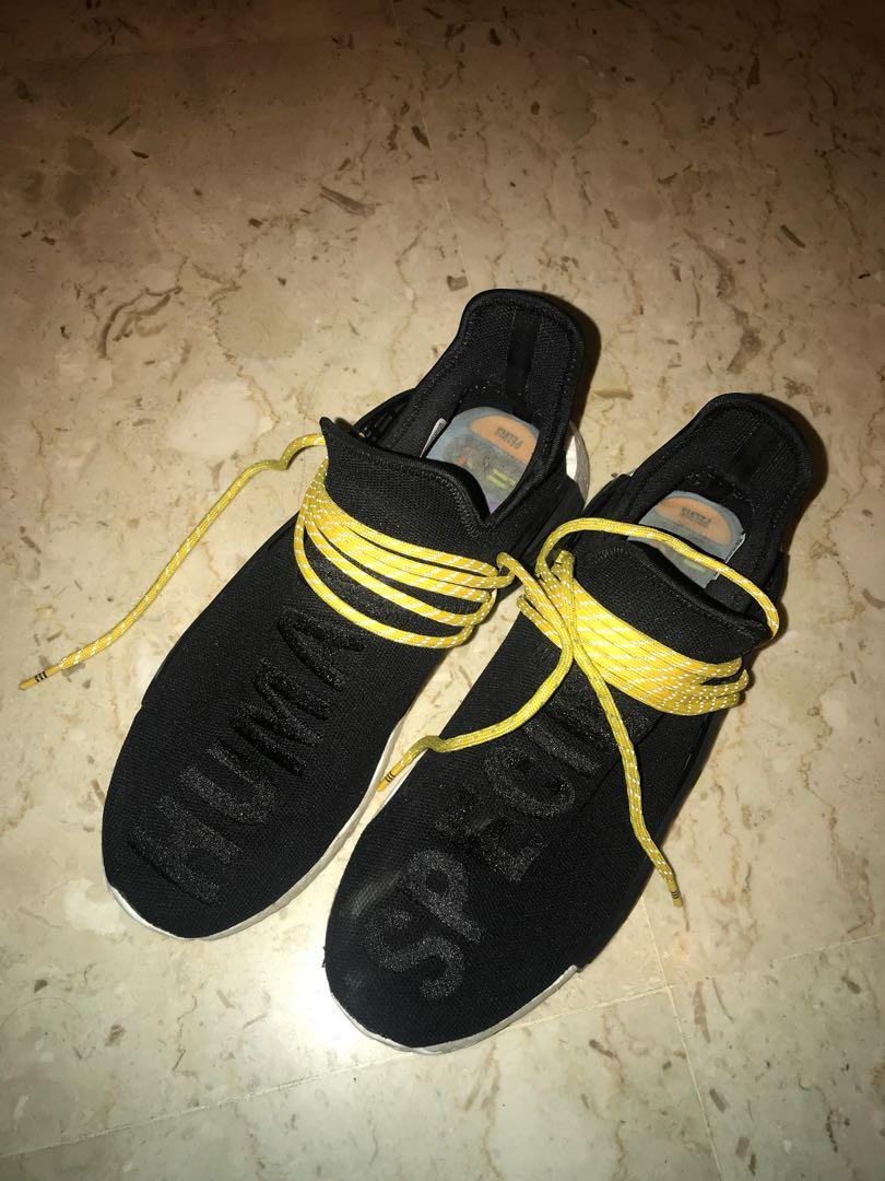 Adidas Nmd Human Race Black Men S Fashion Footwear Sneakers On