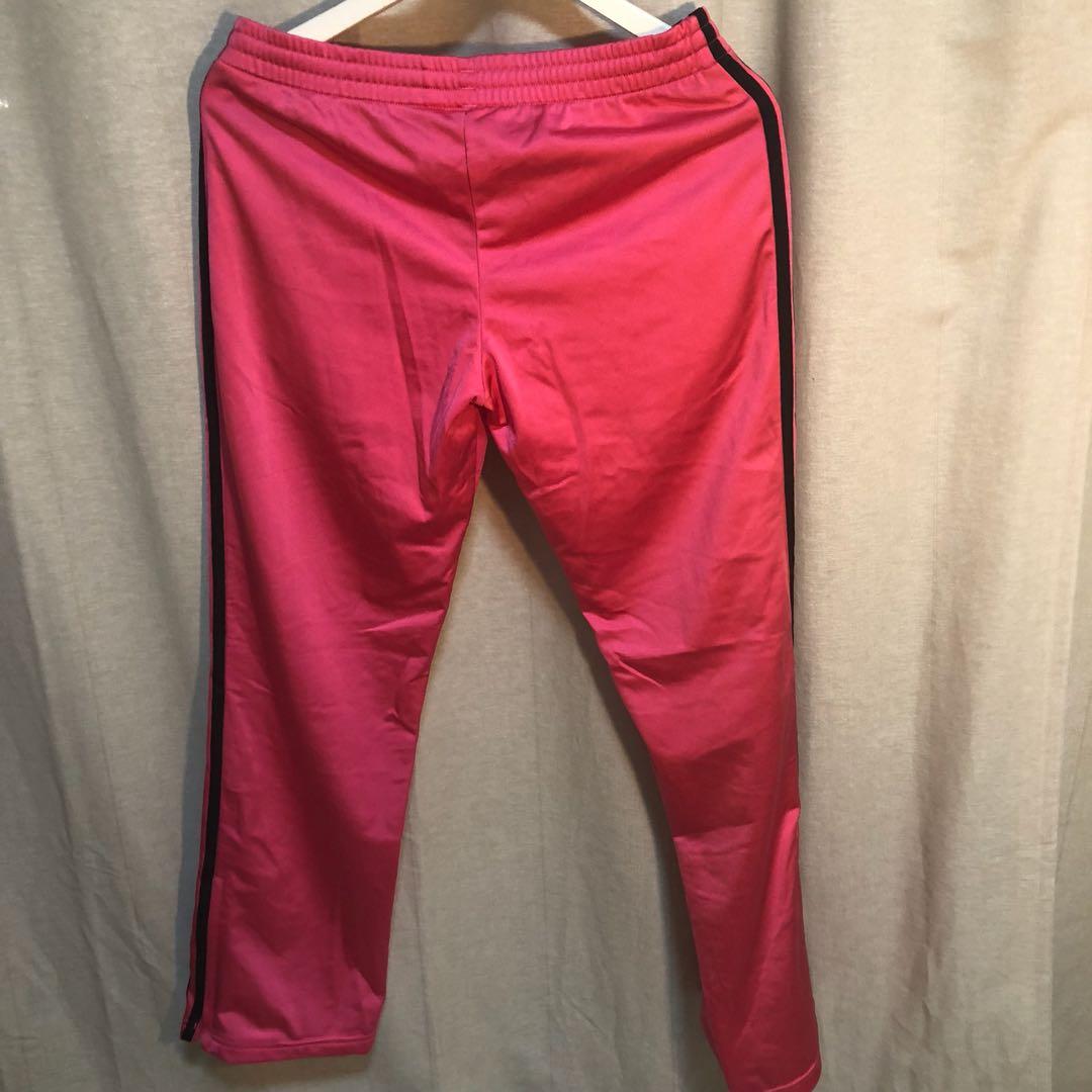 7adcf9248f50 Adidas pink sweat pants