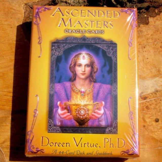 Ascended Masters Oracle Cards by Doreen Virtue, Books