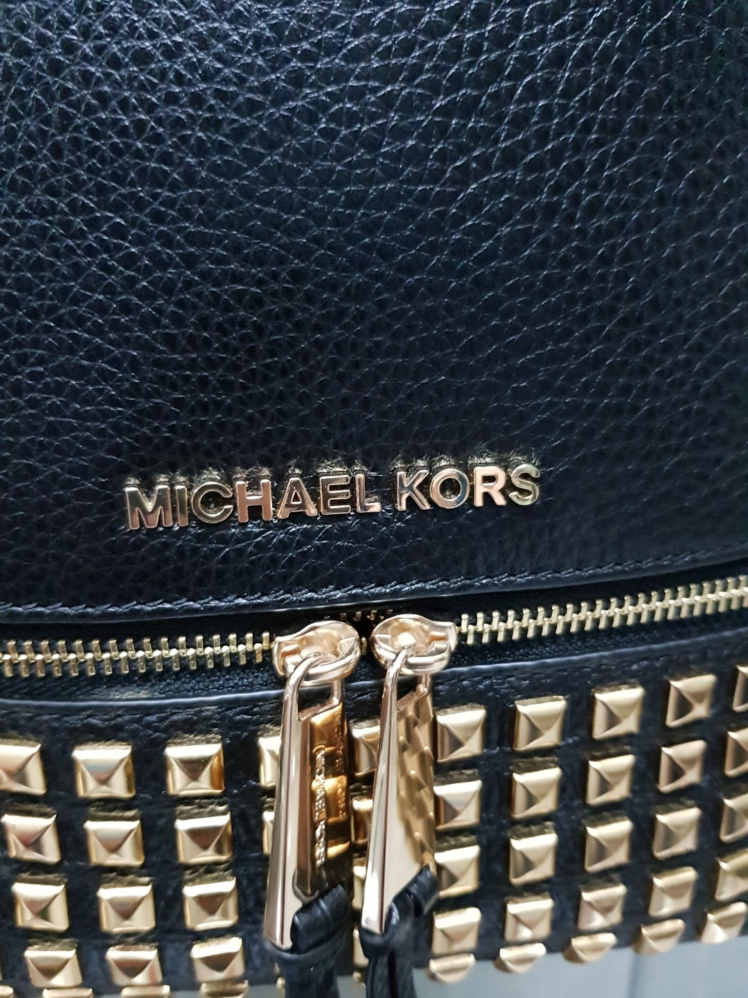 b040bf6e Reduced price $200 Nett. Like new Authentic Michael Kors Backpack, Luxury,  Bags & Wallets, Backpacks on Carousell