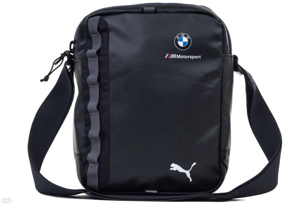 Authentic Puma BMW M MSP Portable f1 Sling Bag 9d5d8e7320dac