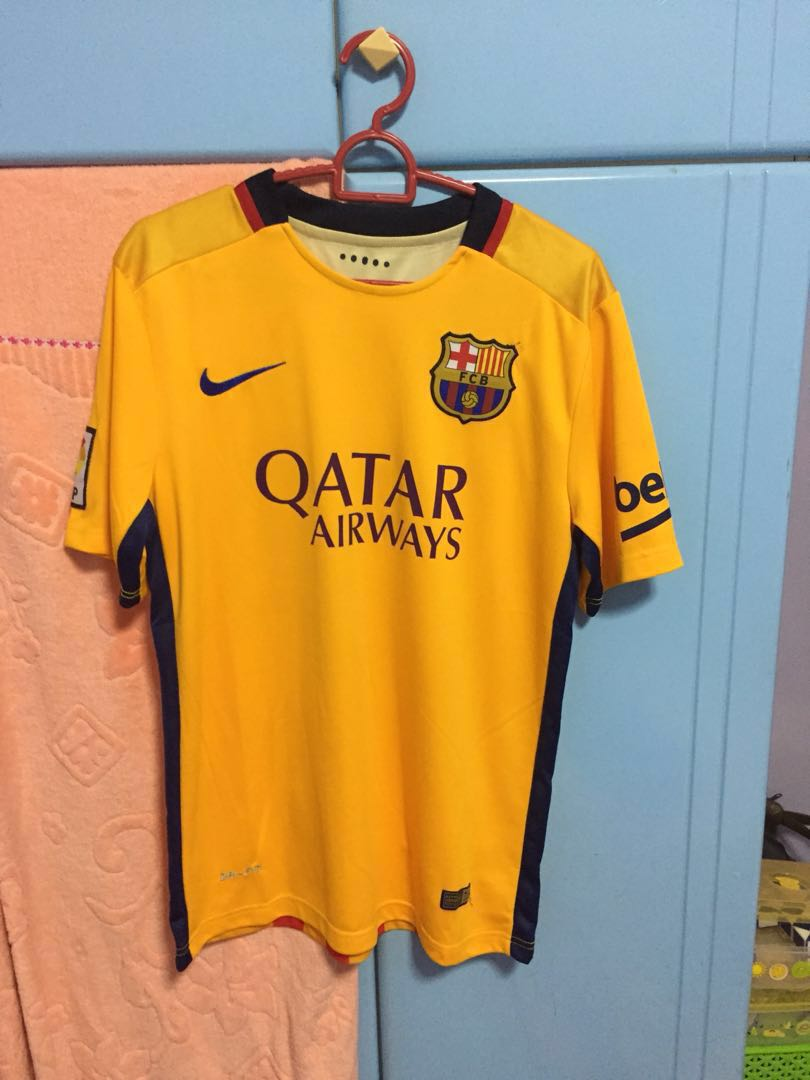 fc5568aa11f Barcelona Kit (2015 Away)