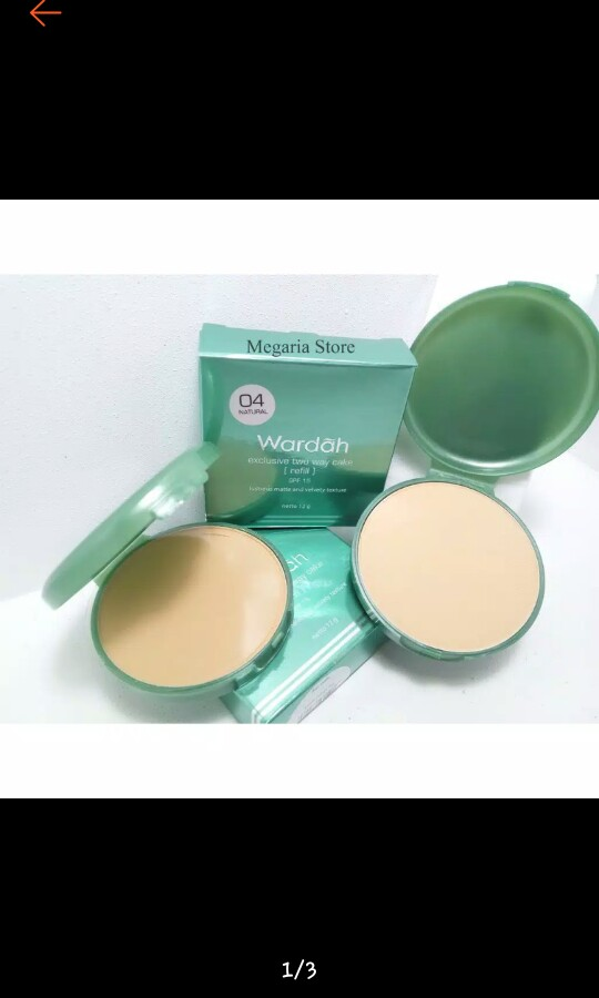 Bedak Wardah Exclusive Two Way Cake Health Beauty Makeup