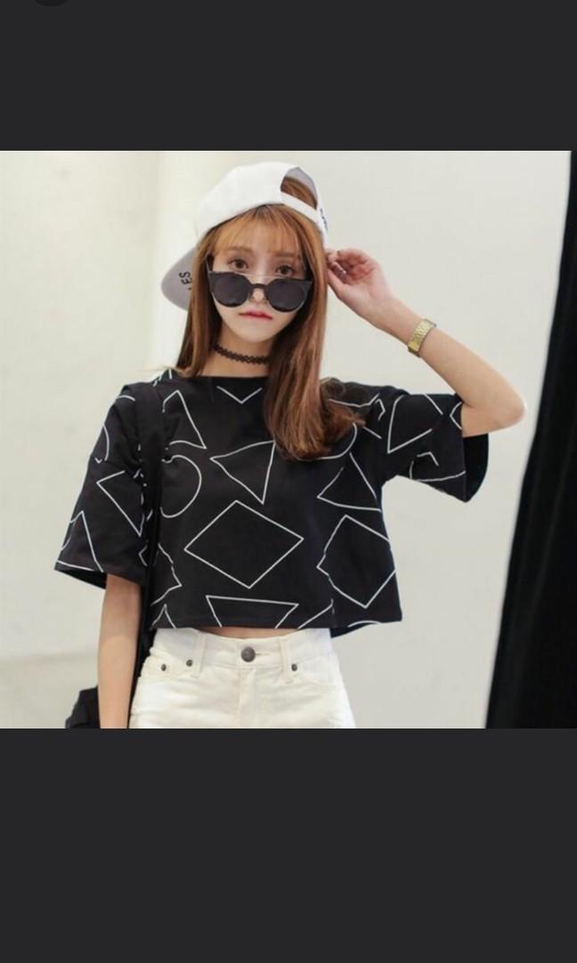 449245c7f26 BNIP Instock❤️Korean Stylish & Cute Symmetric Design Crop Top, Women's  Fashion, Clothes, Tops on Carousell