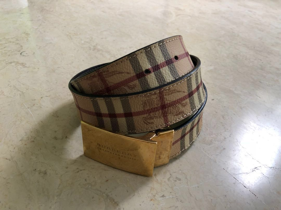 80e5a1e1e94d ... clearance burberry belt mens fashion accessories belts on carousell  00c50 53682