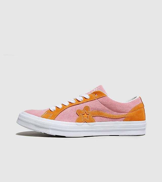 3f0f03c941ef58 Converse x Tyler Golf Le Fleur One Star (Pink Orange)