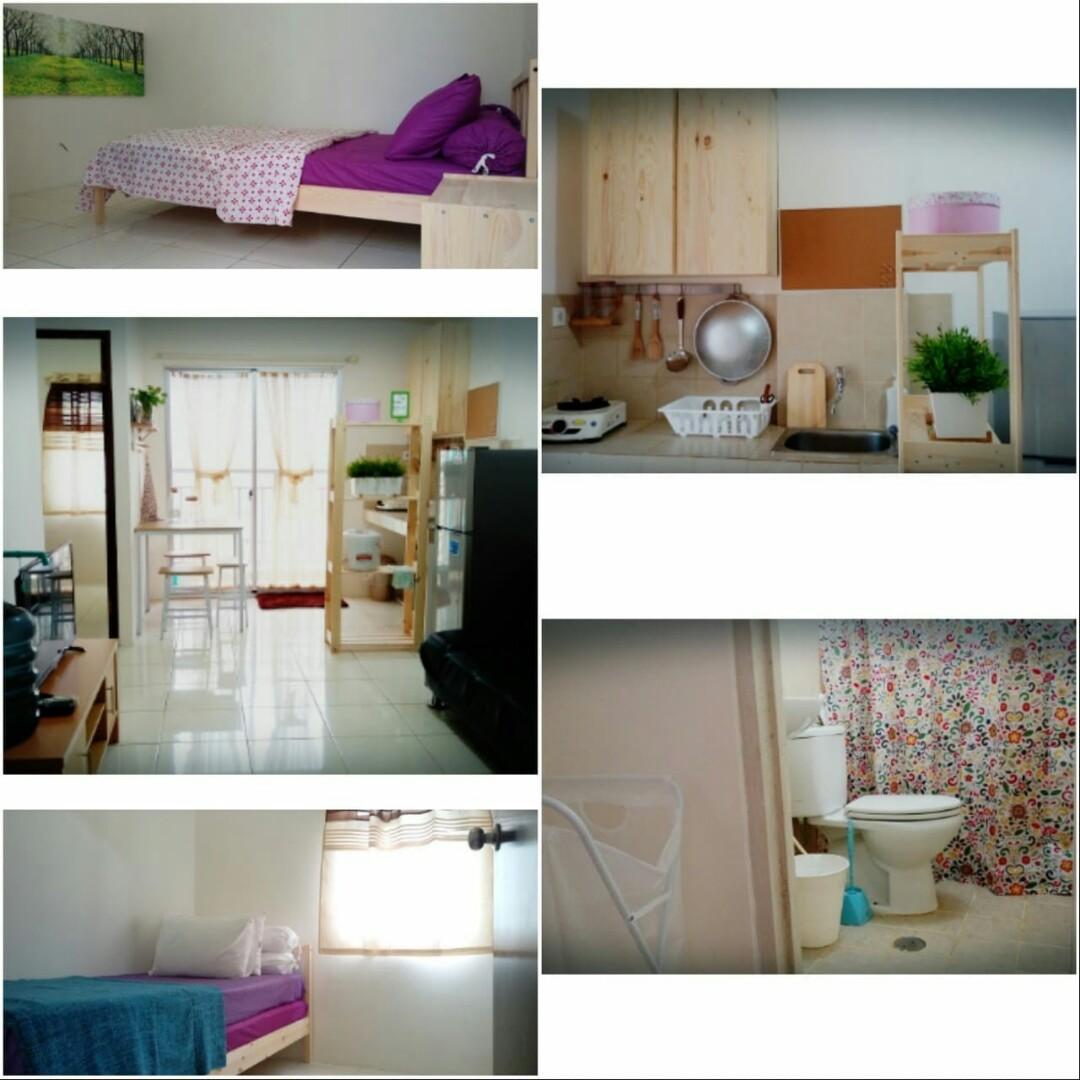 Disewakan Apartemen Mediterania Garden  1
