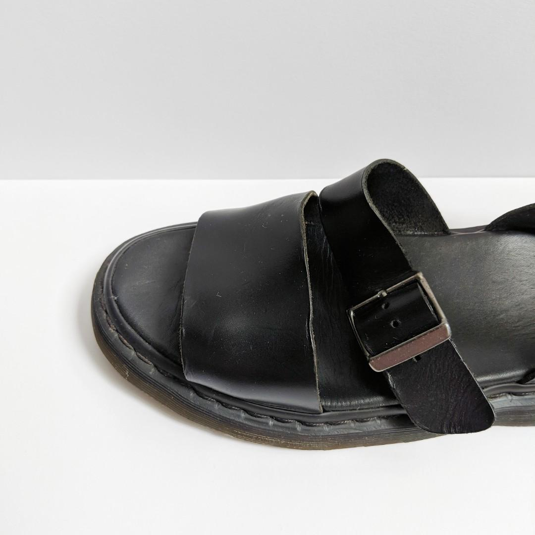 Dr Martens Black Gryphon Sandals