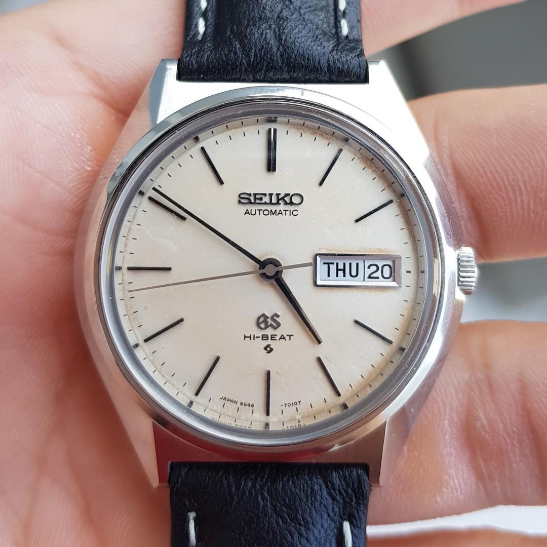 the best attitude 99118 84113 Grand Seiko 5646-7010, Men's Fashion, Watches on Carousell