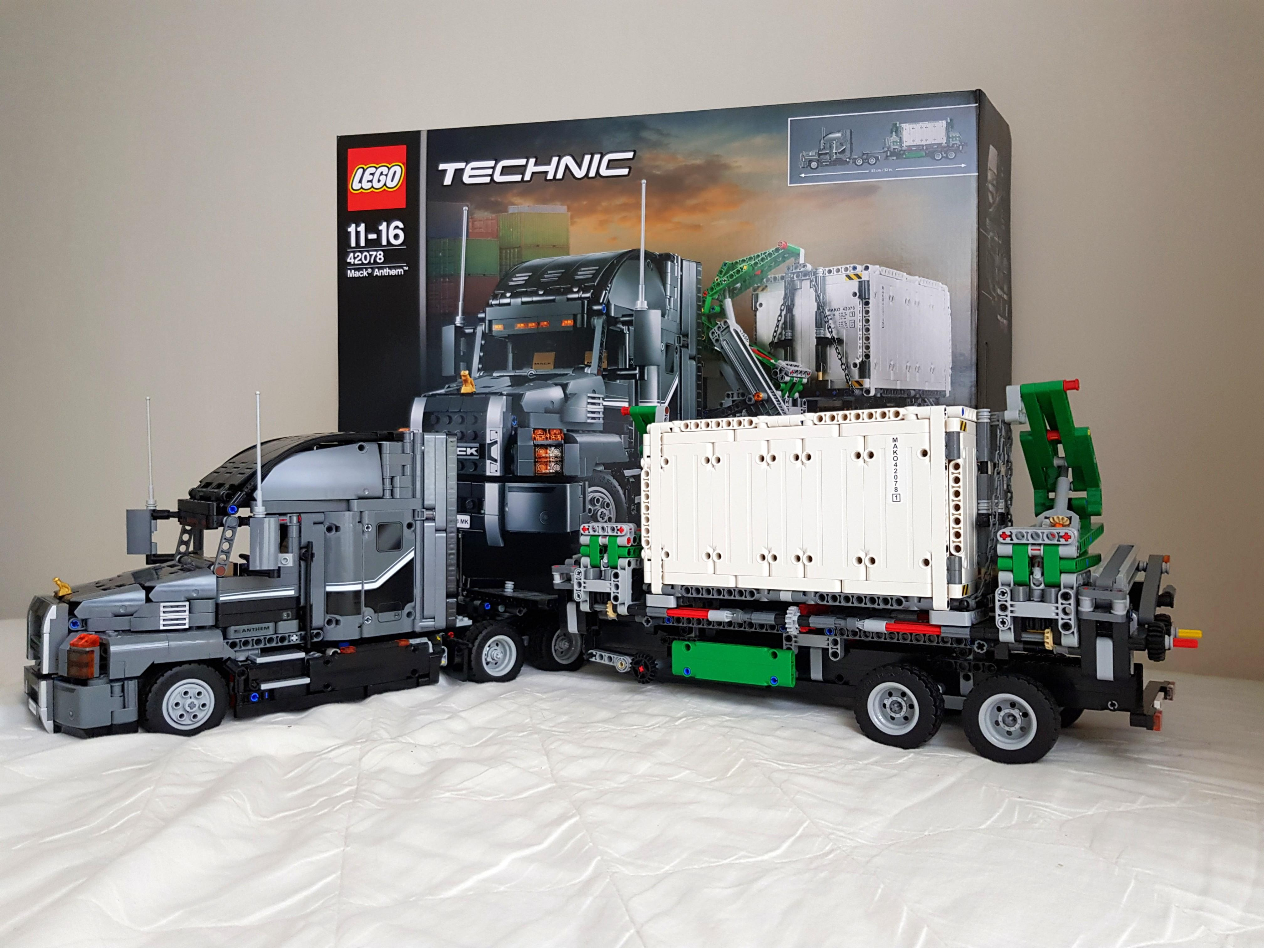 Great Condition Lego Technic Mack Truck Toys Games Bricks Figurines On Carousell