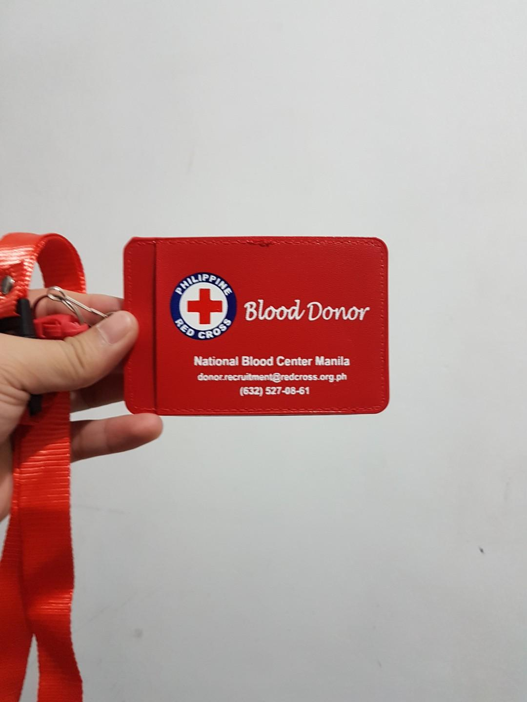 FREE!)ID lace from Red Cross - free when you buy 3 items