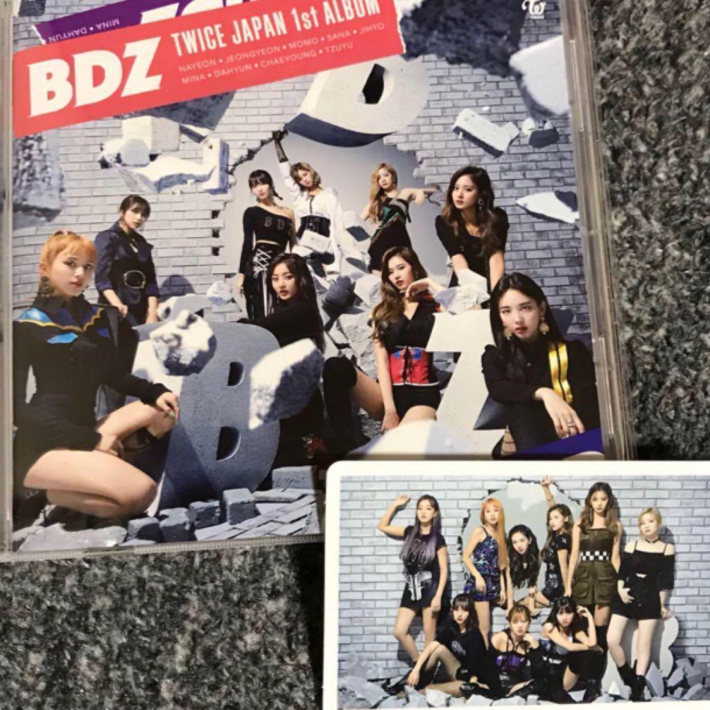 INC] Twice BDZ Group Photocard / Version C album