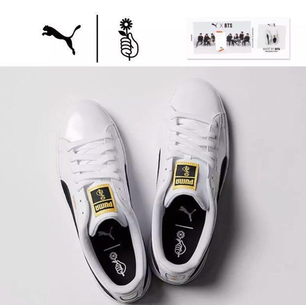 1facf8683e30 SECURED  BTS x PUMA Basket Patent Shoes