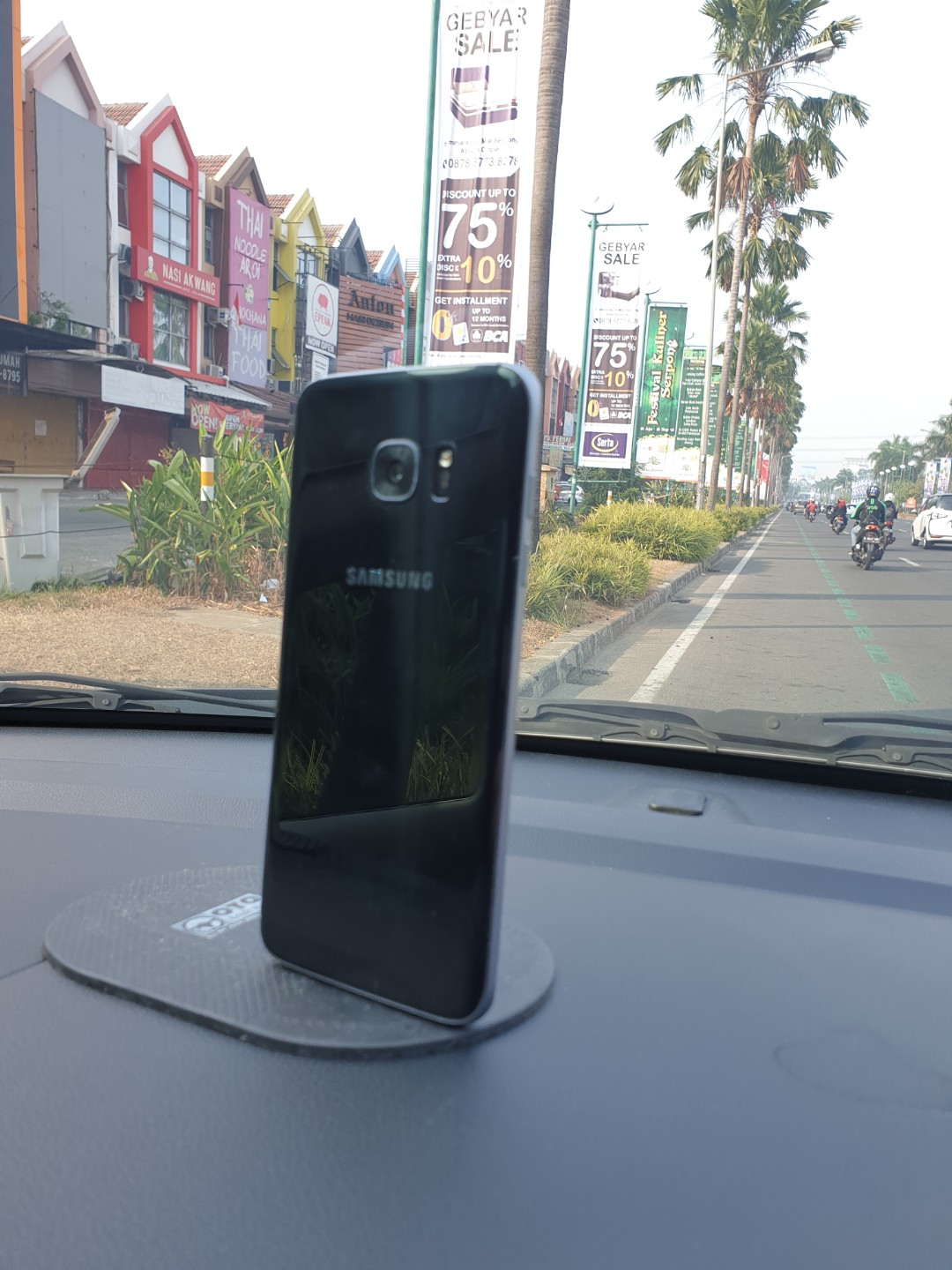 Jual Samsung S7 Edge Black 32gb Mobile Phones Tablets Android On Carousell