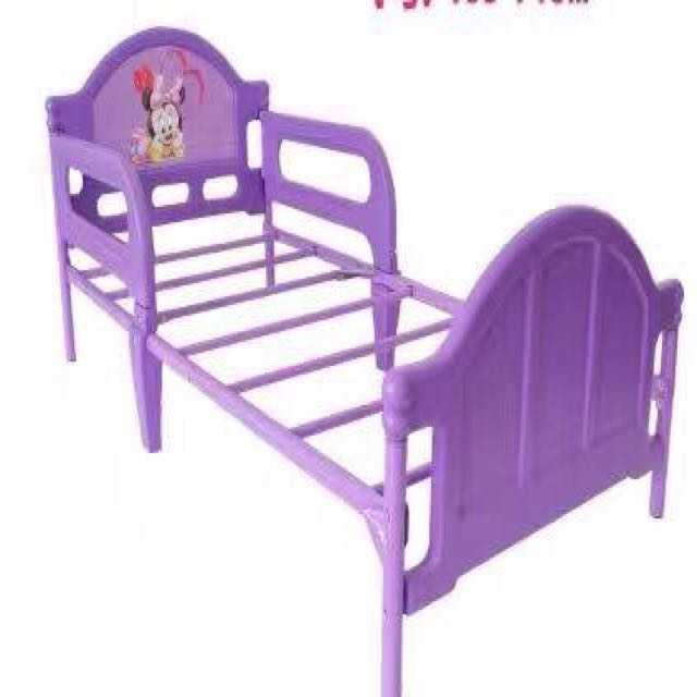 Minnie Mickey Mouse Single Bed Frame With Or Without Foam First