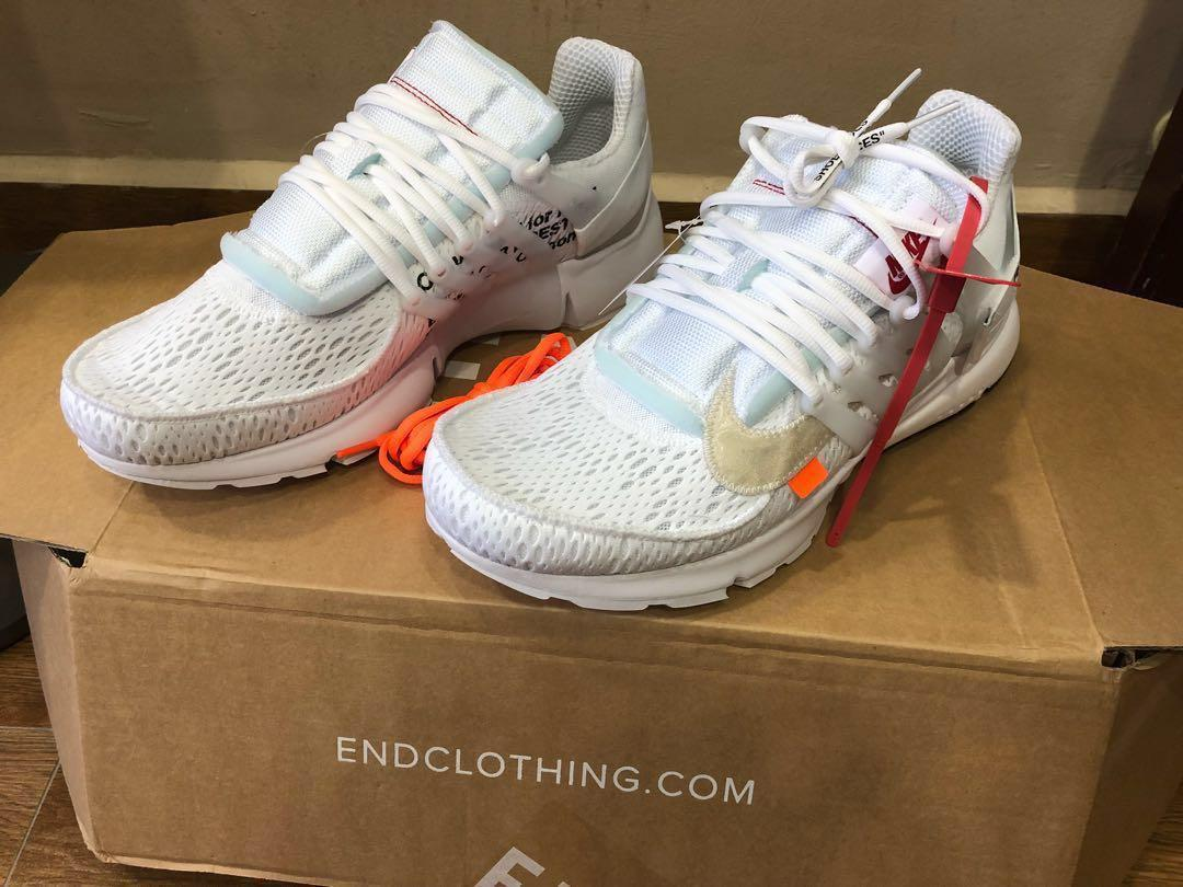 online store 750ce 8210e Nike Off White Air Presto on Carousell