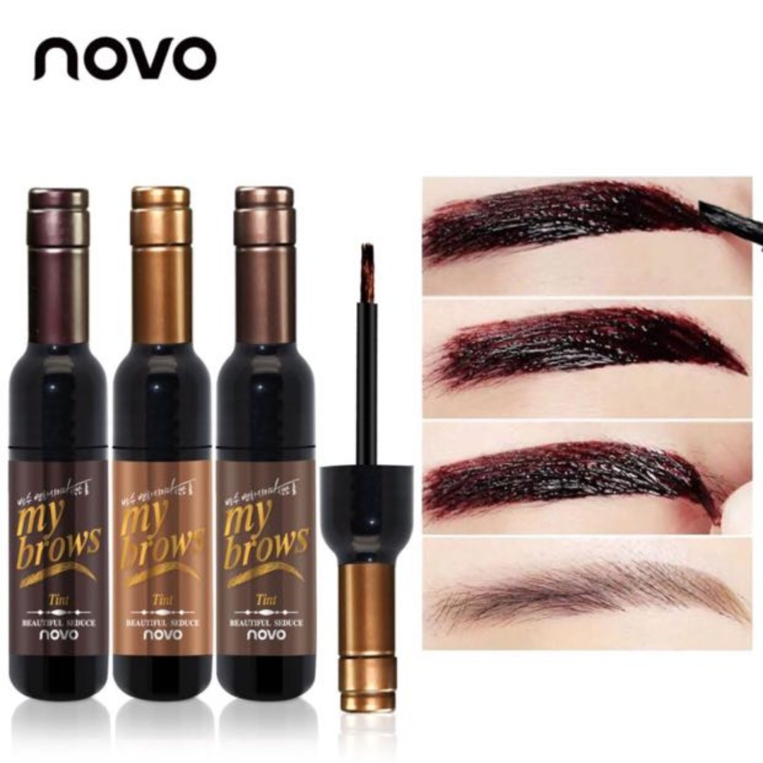 Novo Eye Brow Makeup 3d Peel Off Eyebrow Tint Gel Health Beauty