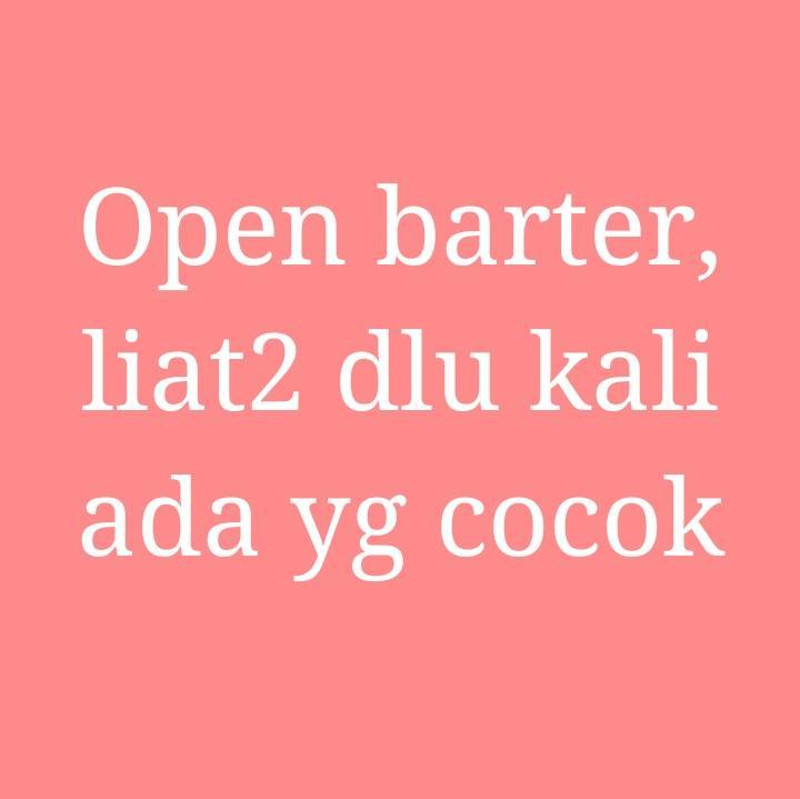 Open barter cari sandal, blouse, n leging