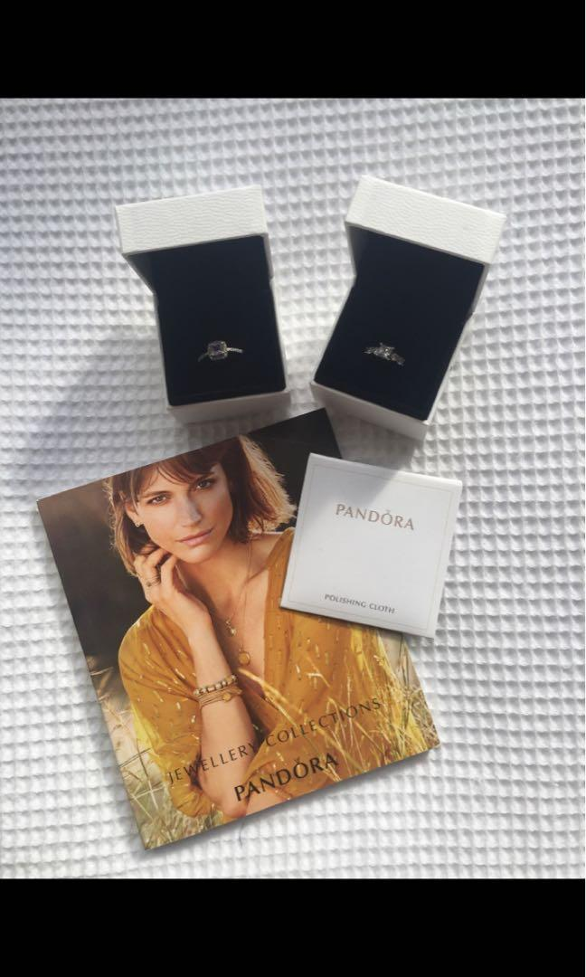 Pandora rings (can buy together for $60 or separately for $35 each)