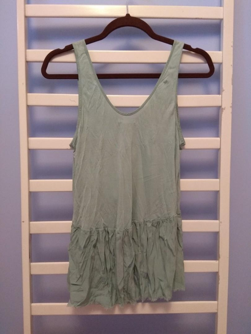 Urban Outfitters light teal tank top