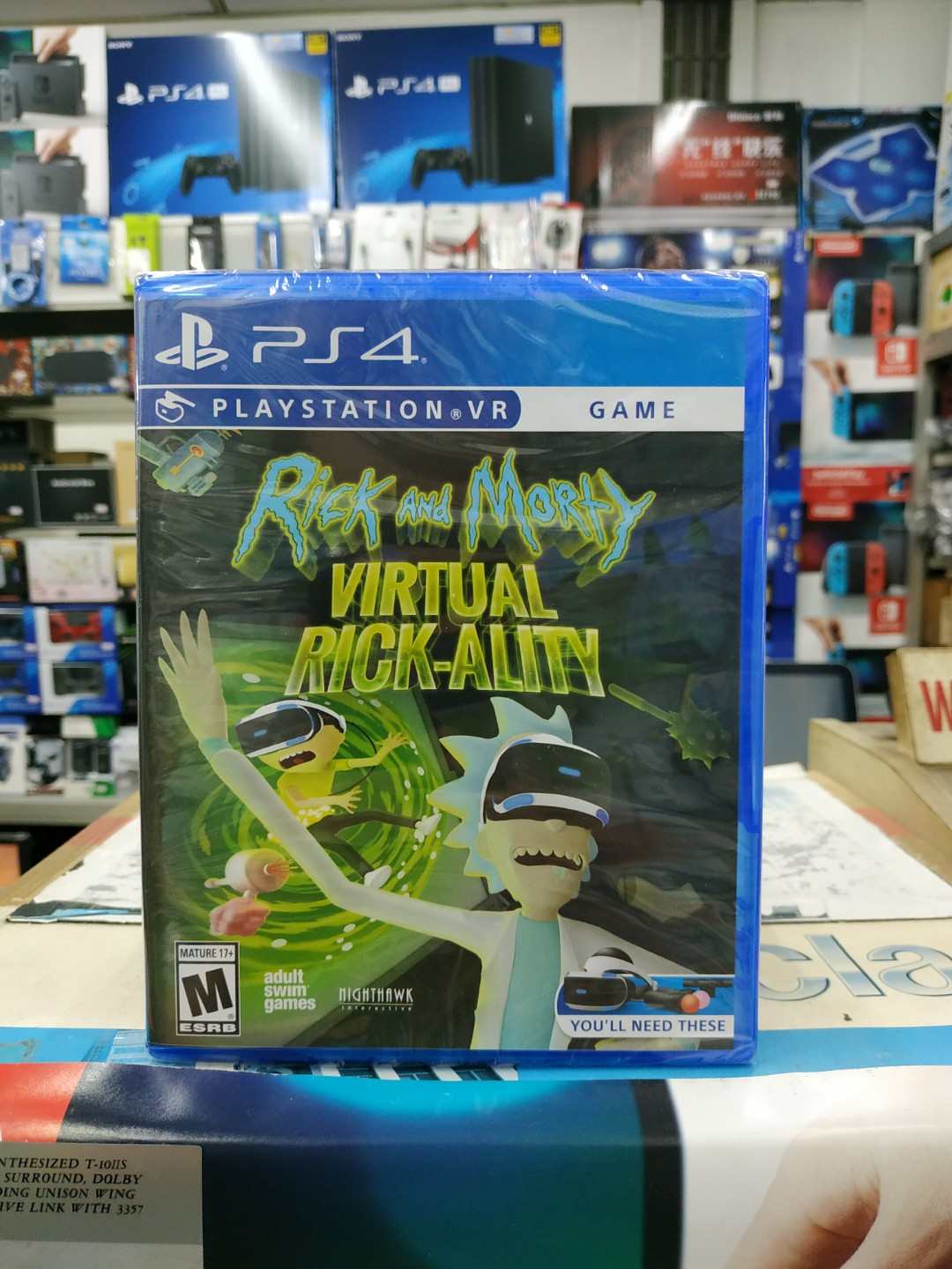 Ps4 Vr Rick And Morty Virtual Ality Toys Games Video Gaming Bravo Team Aim Controller Region 3 English On Carousell