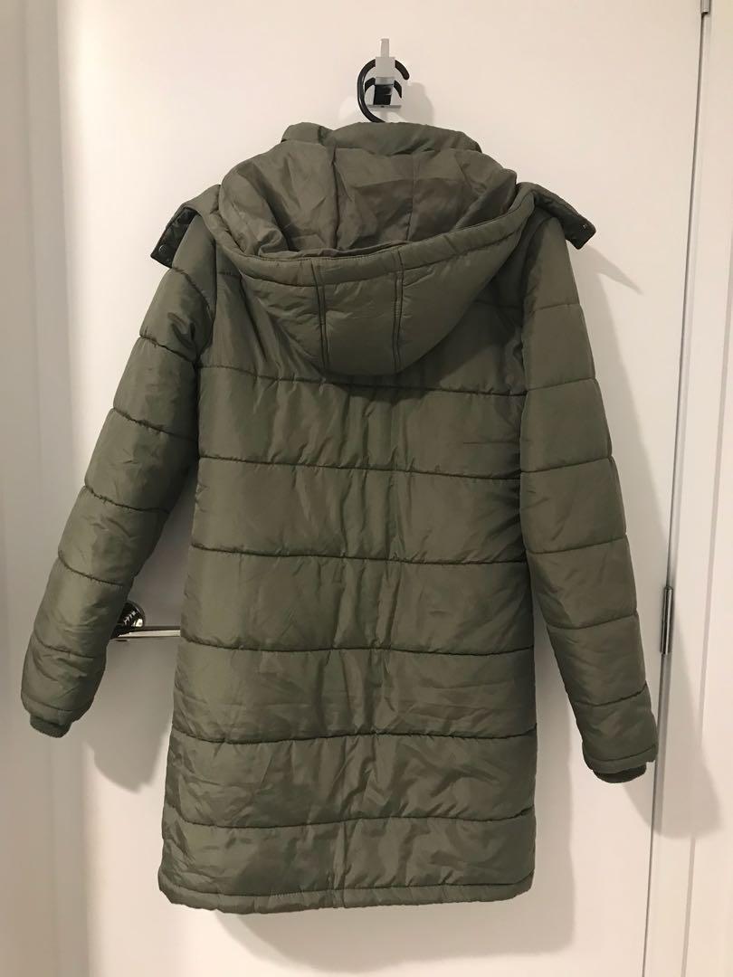 Puffer long jacket