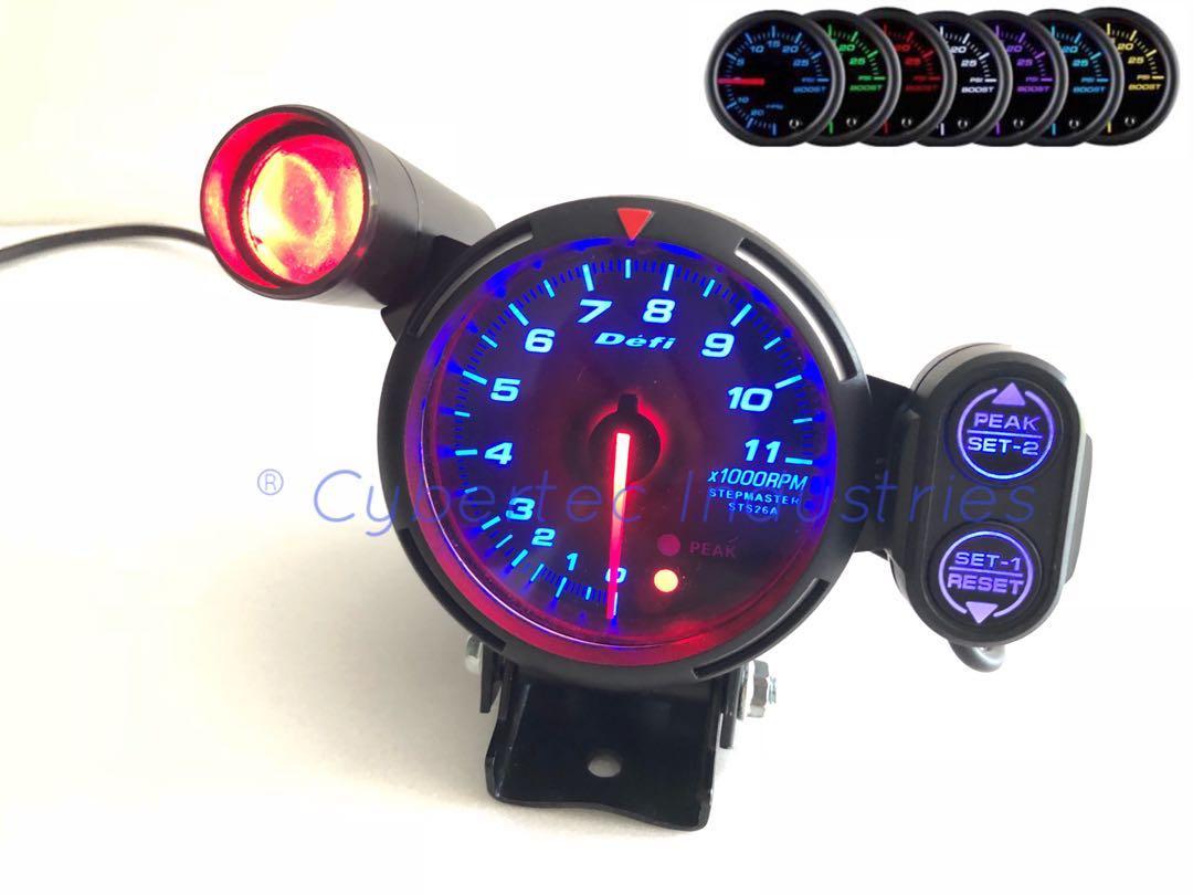 Racing simulation tachometer
