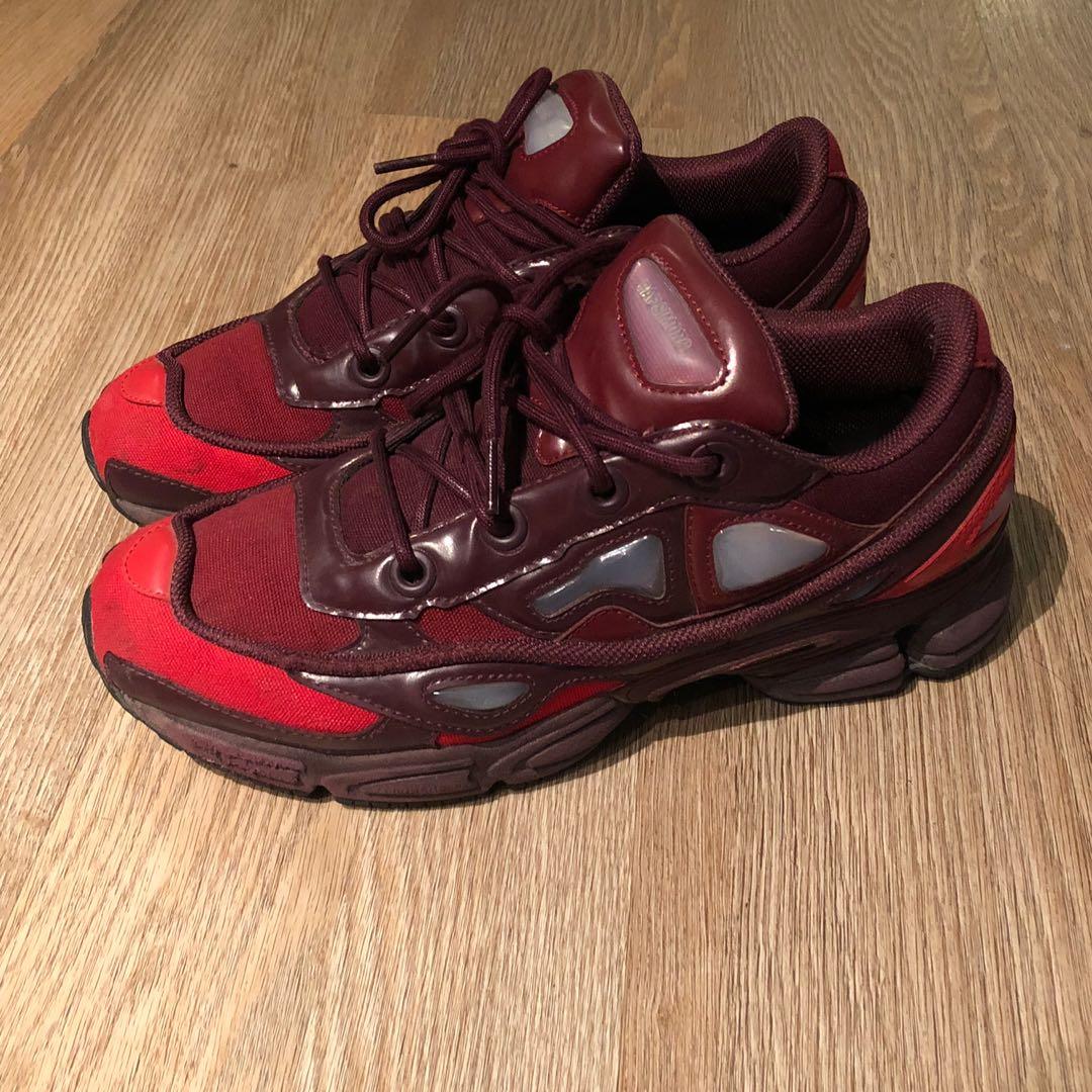 f3cb5106ed6c Raf Simons x Adidas Ozweego Burgundy US 8.5   UK 8