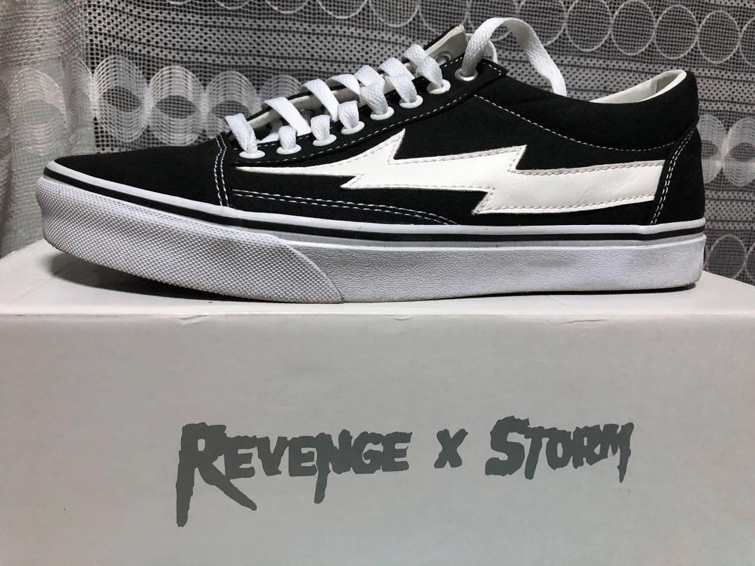 4dcbda9f6 REVENGE X STORM Low Top Vans Sneakers (BNIB), Men's Fashion, Footwear,  Sneakers on Carousell