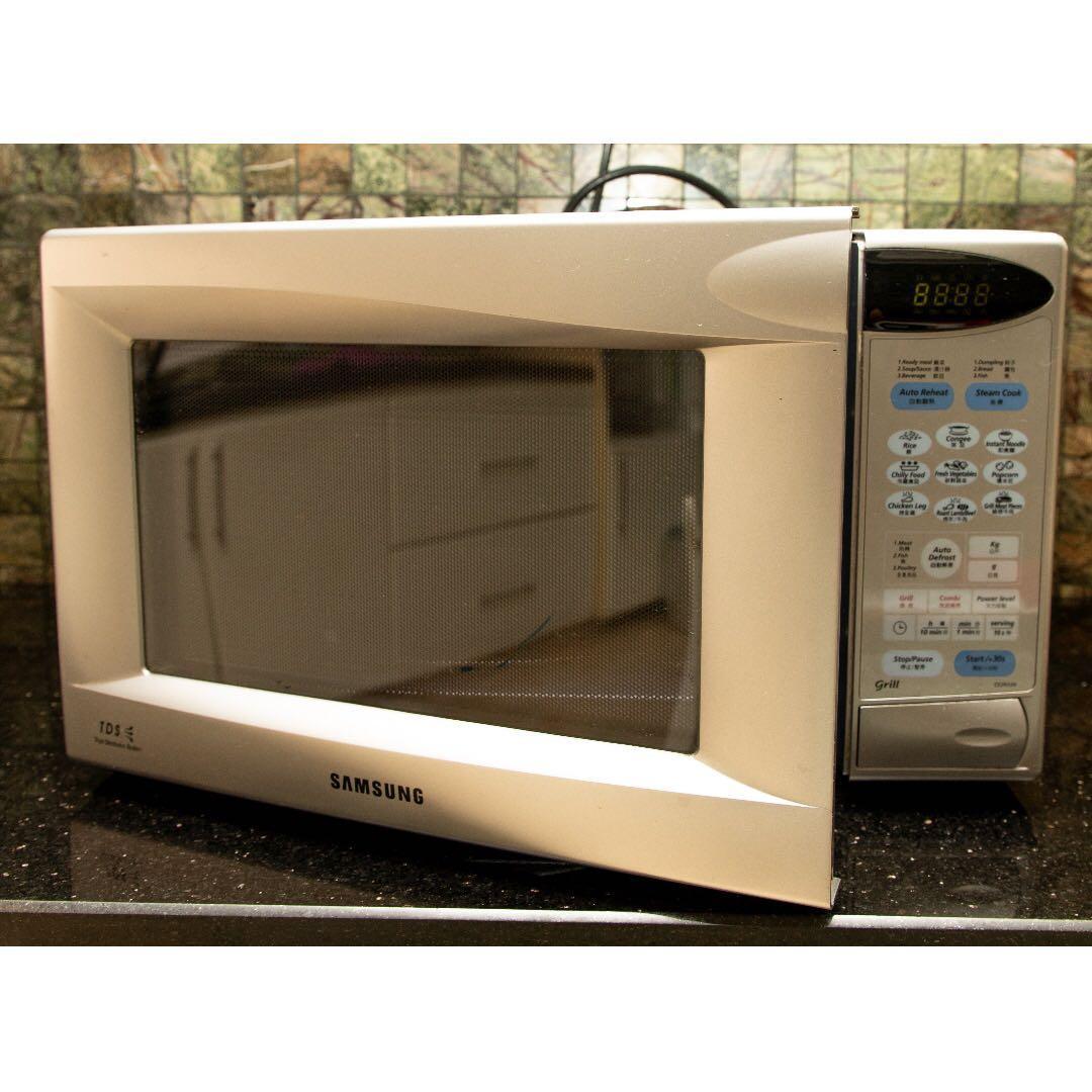 Microwave Oven Samsung Tds Bruin Blog