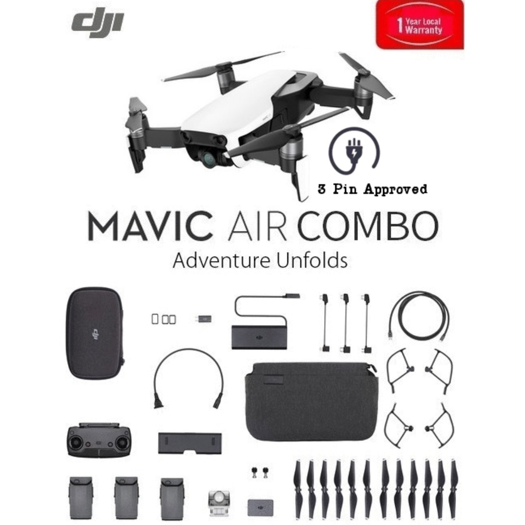 dbd3c96b7fe Special Offer] DJI Mavic Air Fly More Combo, Photography on Carousell