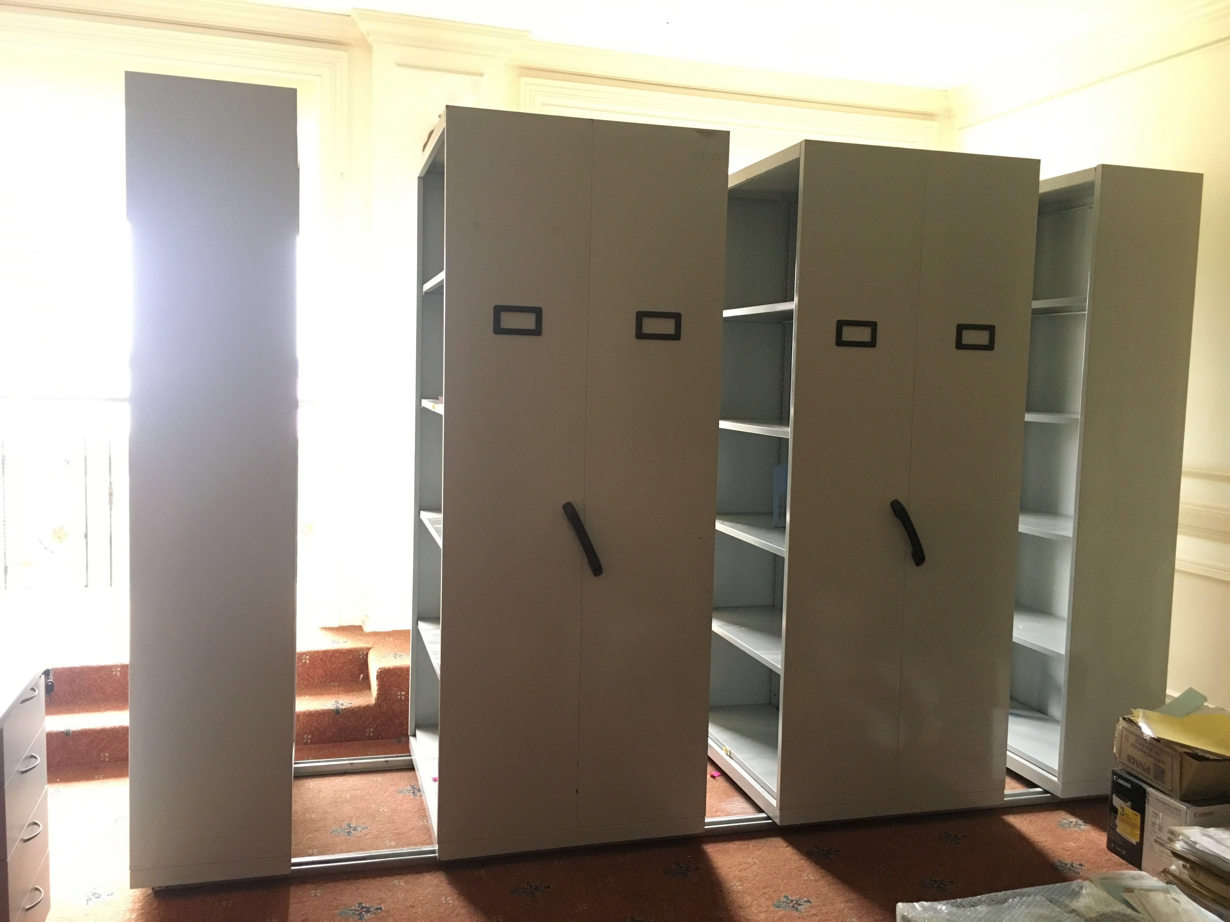 Steel File Cabinet Movable With Wheel