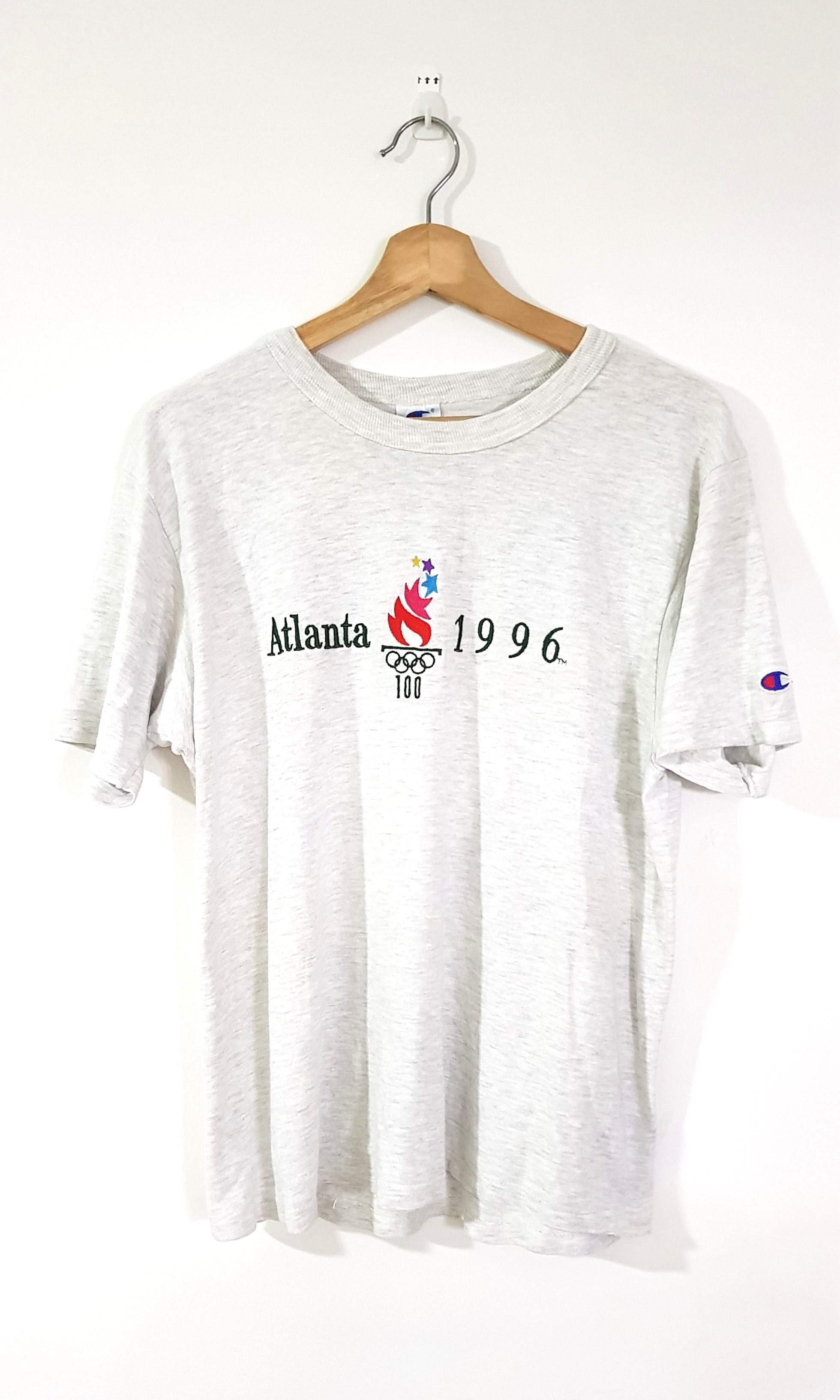 27a8970943f9 Vintage Olympic Atlanta 1996 Champion Tshirt