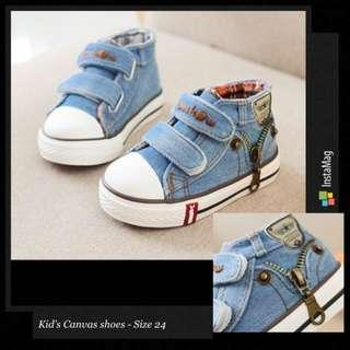 🚚 *INSTOCK* kid's Canvas Shoes