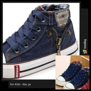 🚚 *INSTOCK* Canvas Shoes for Kids