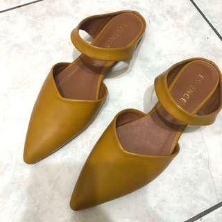 🚚 穆勒鞋 尖頭拖鞋 涼鞋