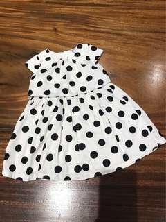 Carter's polka dot dress