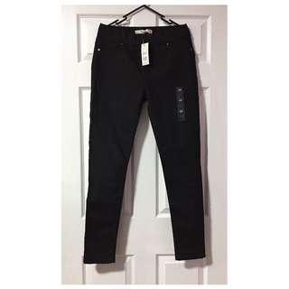 Target Black Stretch Jeggings - Size 14 - free shipping.