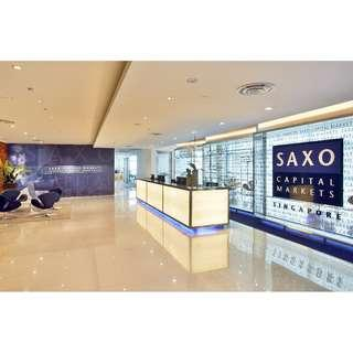 $350 referral fee upfront for opening a Saxo Brokerage Account