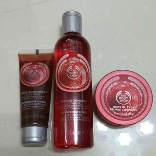 BNIB - The Body Shop Body Butter Body Polish Body Shower