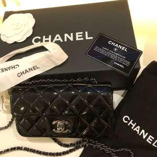 Chanel extra mini classic flap 17cm (議價不回)