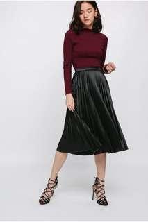 Love Bonito Marikate Pleated Midi Skirt